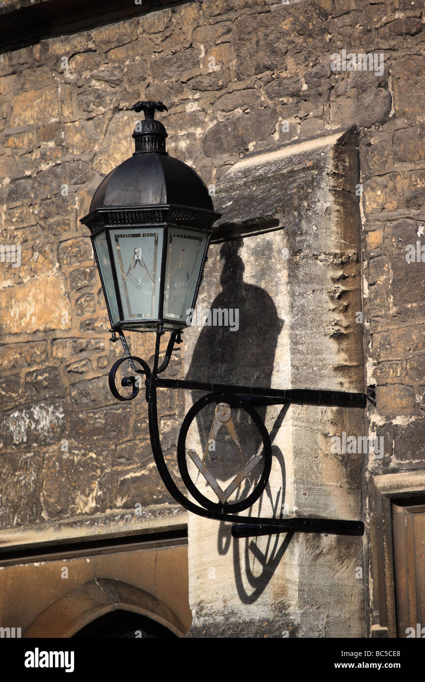 Old street lamp in Bradford-on-Avon, Wiltshire - Stock Image