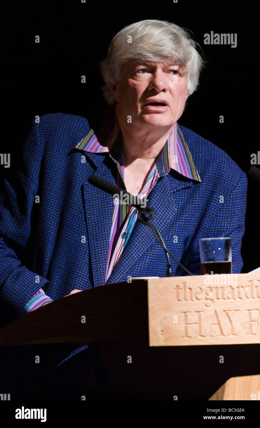 Geoffrey Robertson QC Australian born human rights lawyer pictured speaking at Hay Festival 2009 - Stock Image
