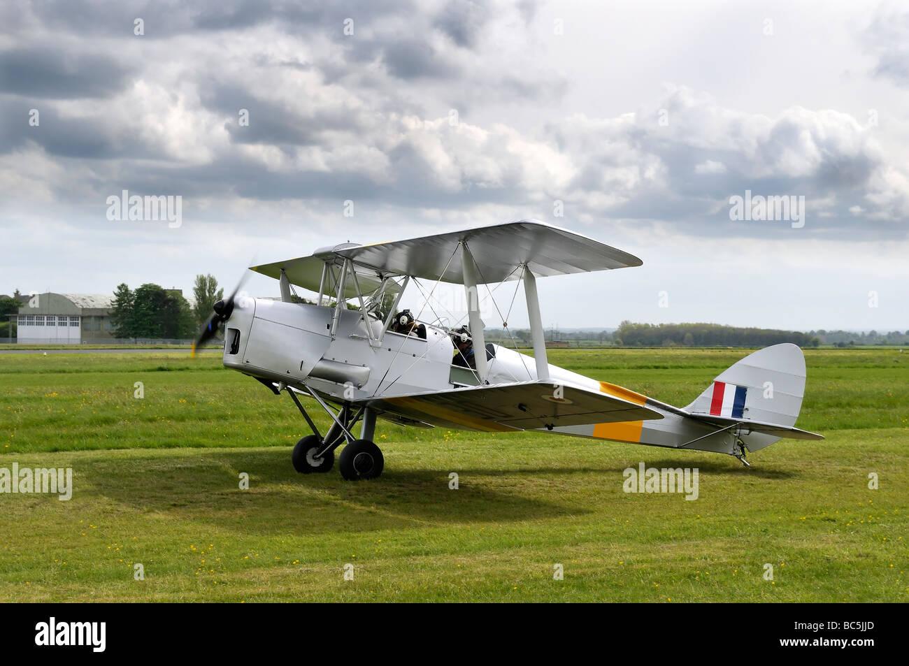 De Havilland Tiger Moth - Stock Image