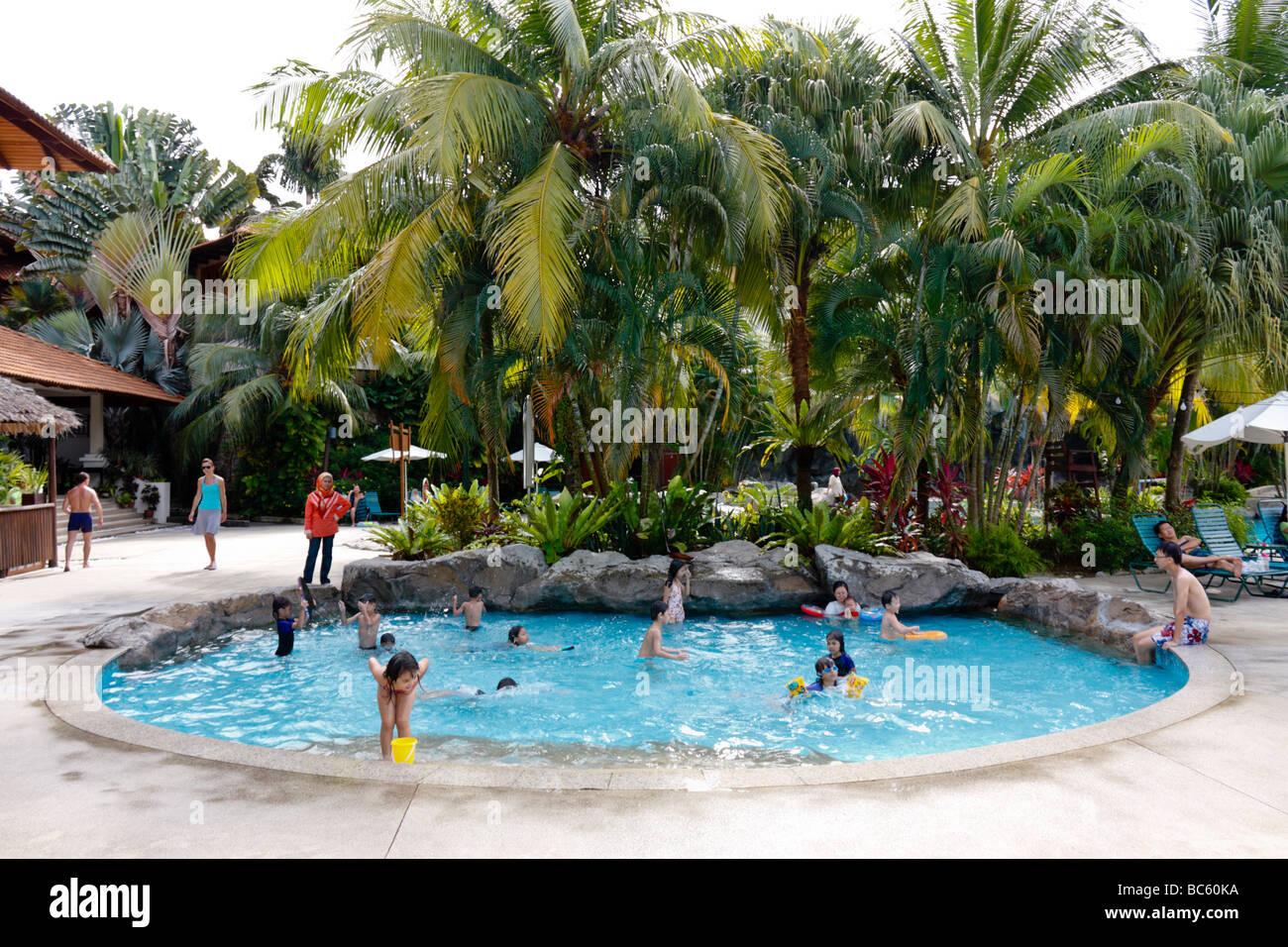 Hotel swimming pool in damai laut lumut malaysia stock - Swimming pool specialist malaysia ...