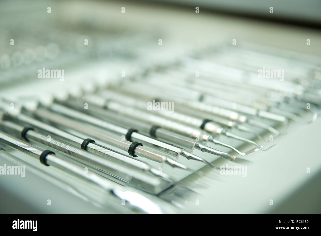 Close-up of dental equipments - Stock Image