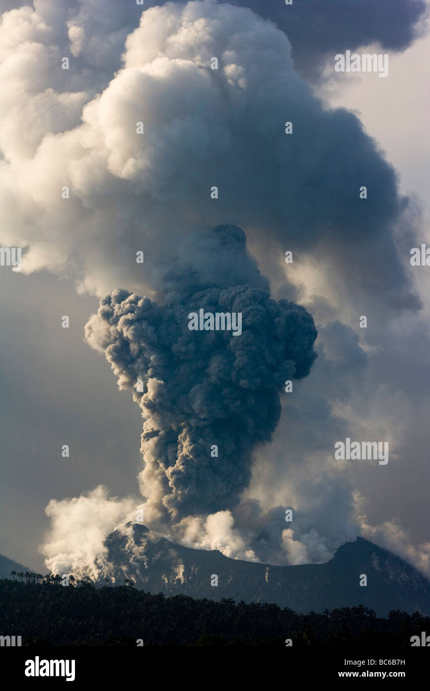 Volcanic Erruption - Stock Image