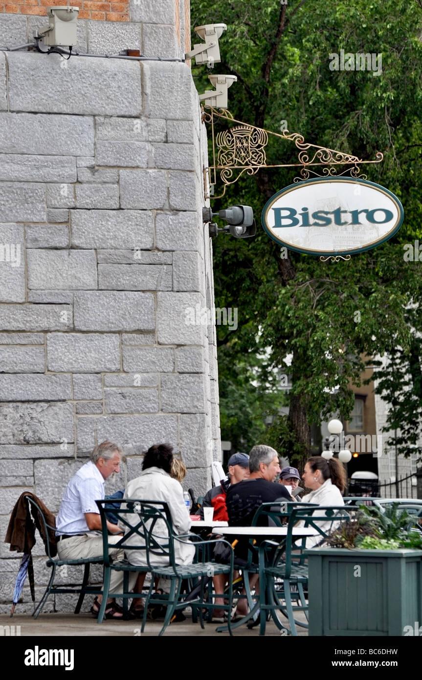 Out door Bistro - Stock Image