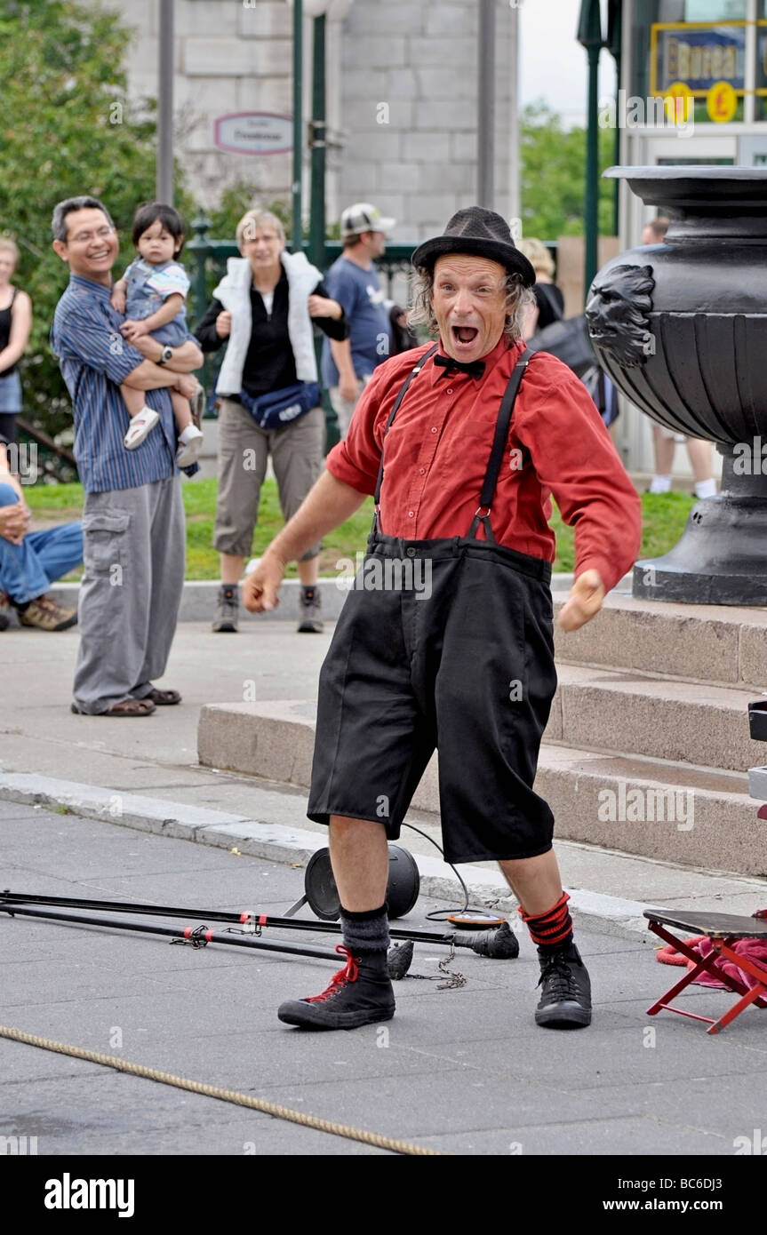 Street Performer /  Entertainer - Stock Image