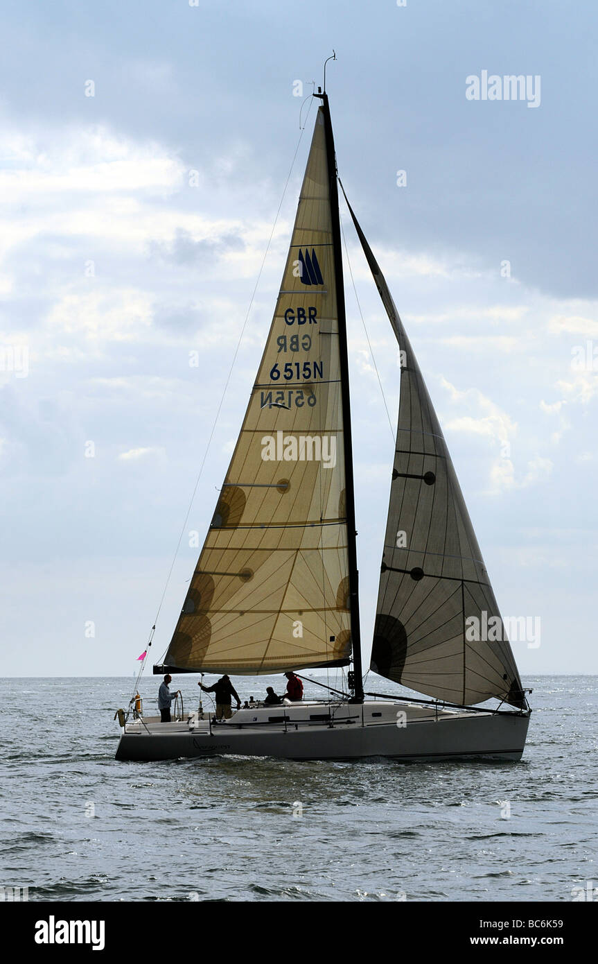 Seaquest Prima 38 Round the Island 2009 - Stock Image
