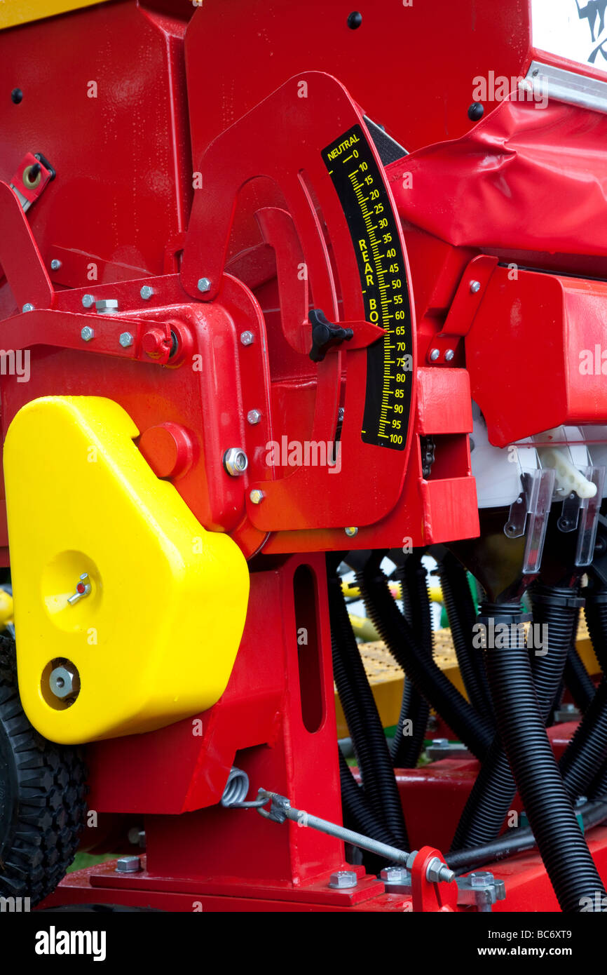 Trade Stands Duxford : Farm machinery show stock photos