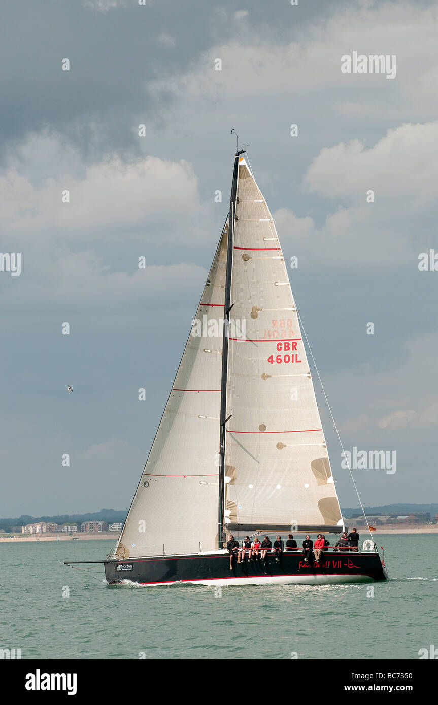 Round the Island Race 2009 - Stock Image