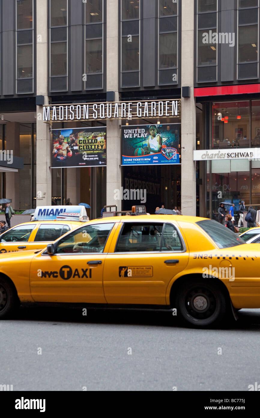 Madison Square Garden NYC - Stock Image