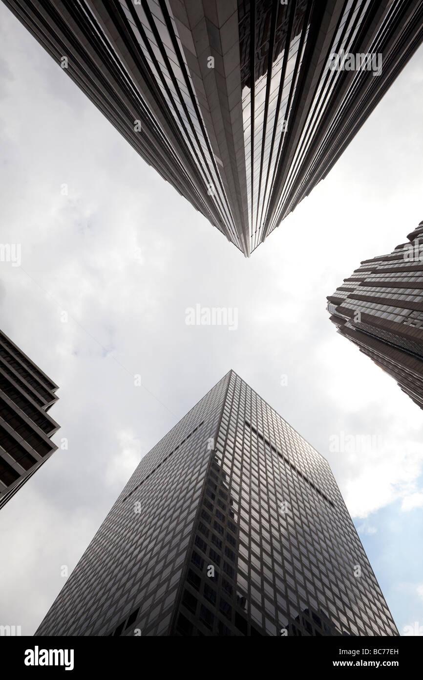 Sky scrapers in NYC - Stock Image