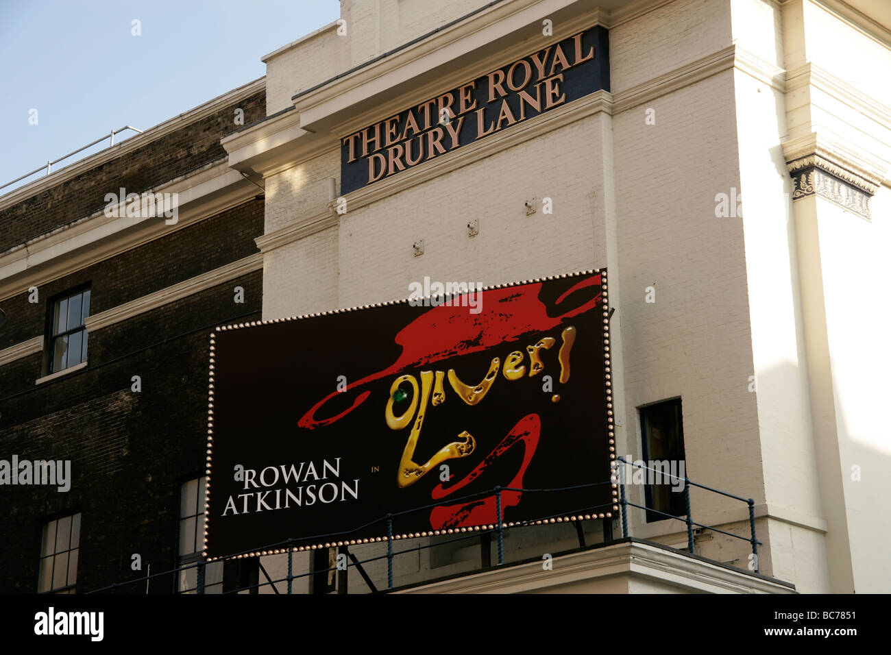 Theatre Royal Drury Lane in Covent Garden: Oliver musical Stock Photo