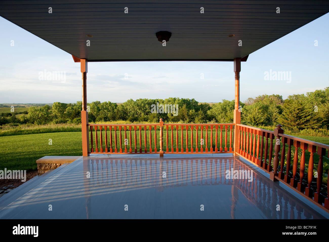 Porch - Stock Image