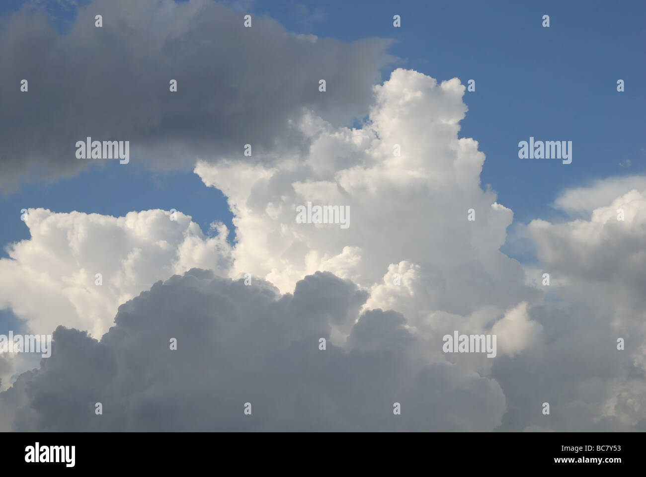 Storm clouds forming - Stock Image