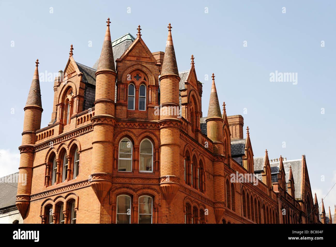 South City Market red brick building aka George s Street Arcade in Dublin Republic of Ireland - Stock Image