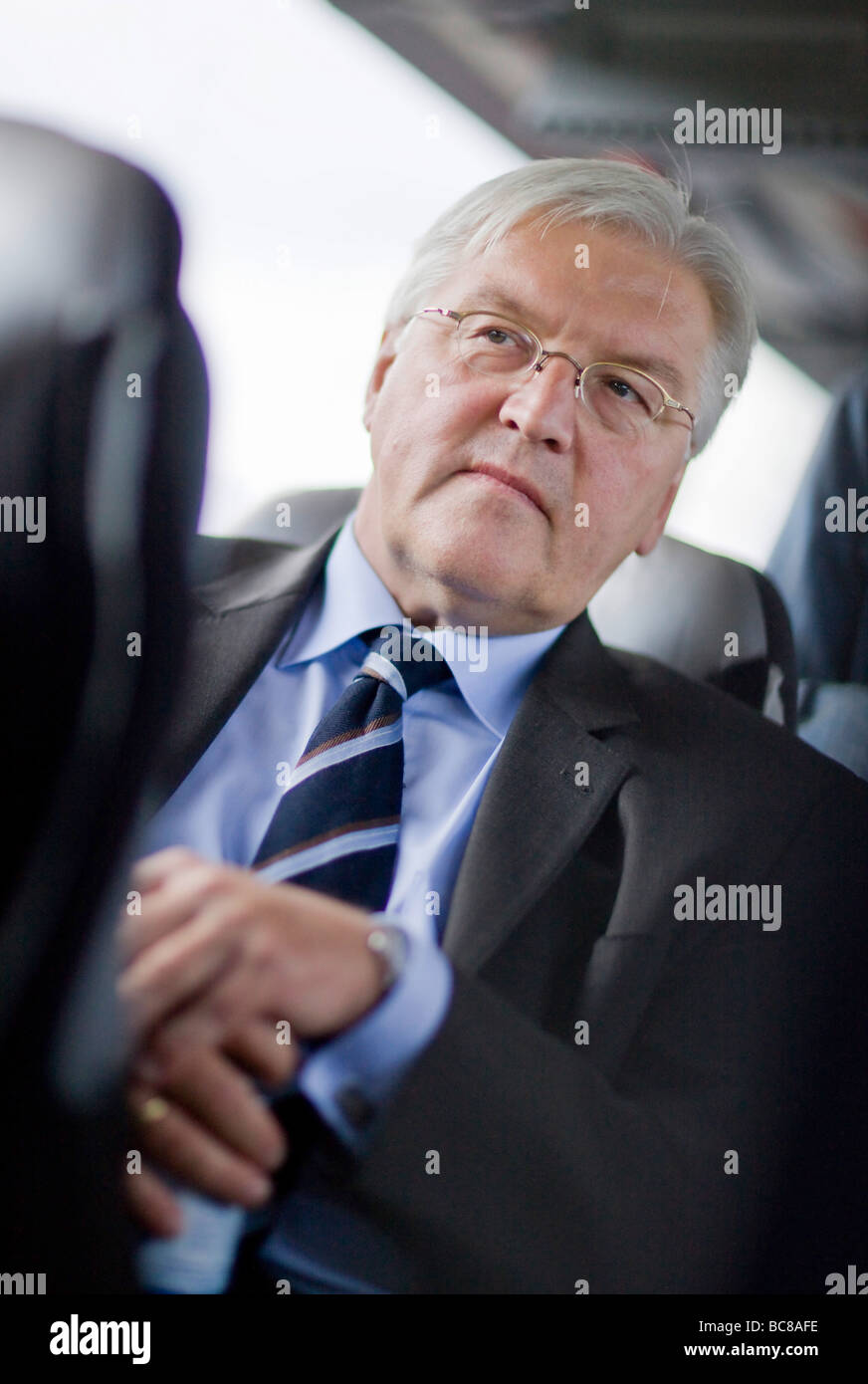 Frank Walter STEINMEIER SPD Federal Minister for Foreign Affairs of Germany and Vice Chancellor - Stock Image