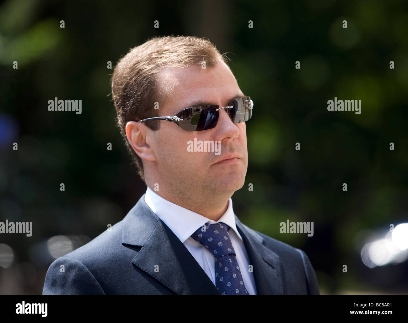 Dmitry Anatolyevich Medvedev President of Russia - Stock Image