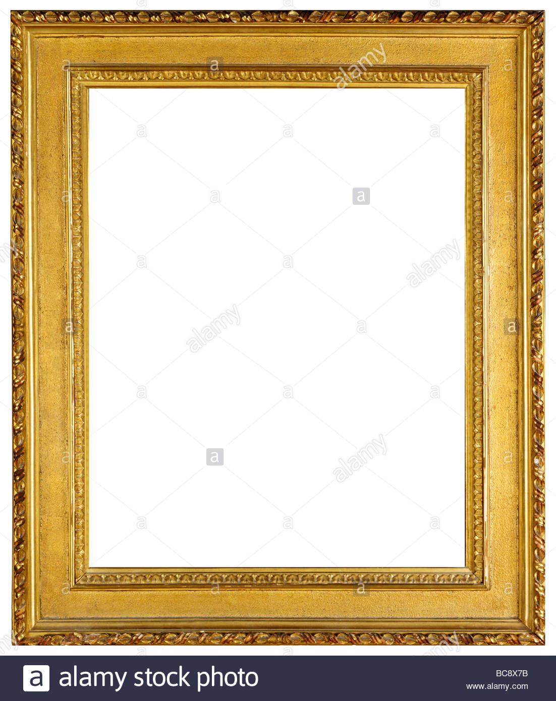 Gold Leaf Oil Painting Frame 100 To 200 Years Old Dropped Out On