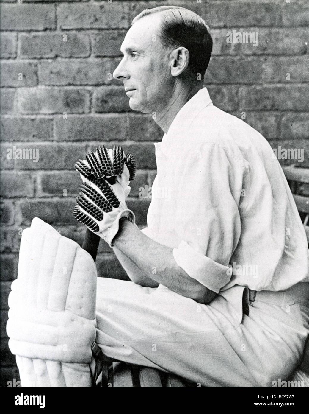 JACK HOBBS - English Test cricketer (1882-1963) - Stock Image