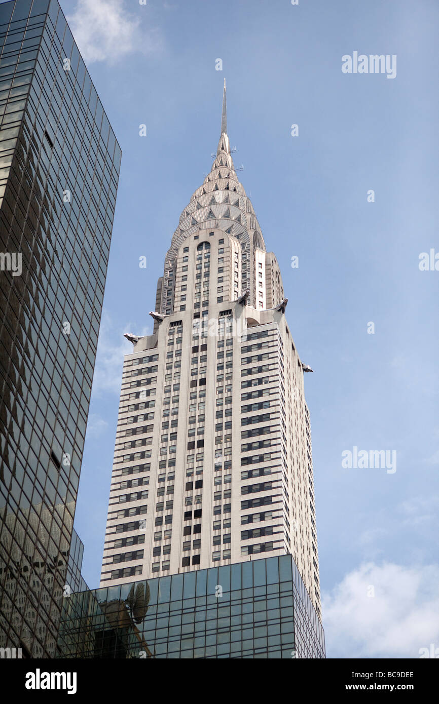 Crysler Building in NYC - Stock Image