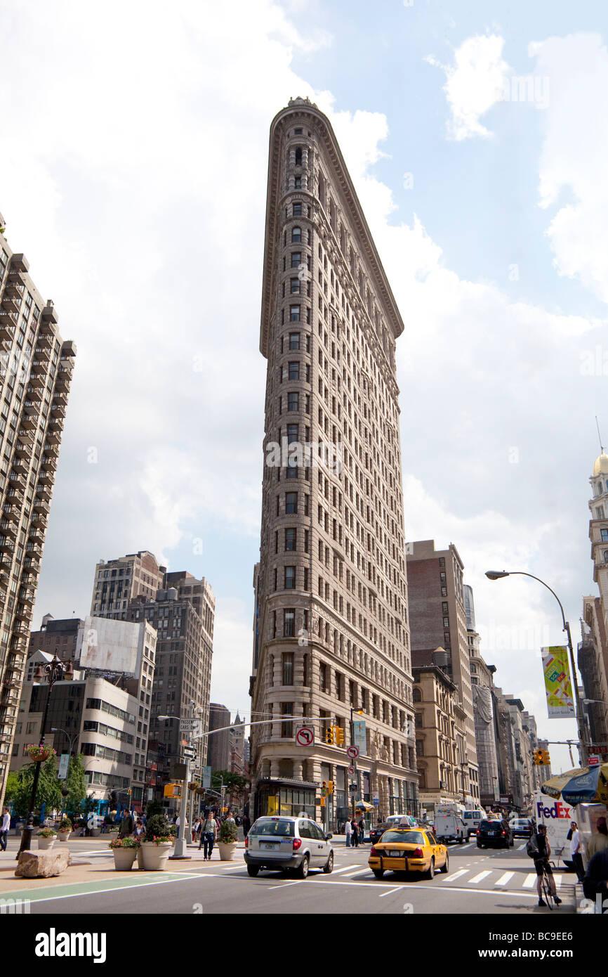 Flatiron building in NYC - Stock Image