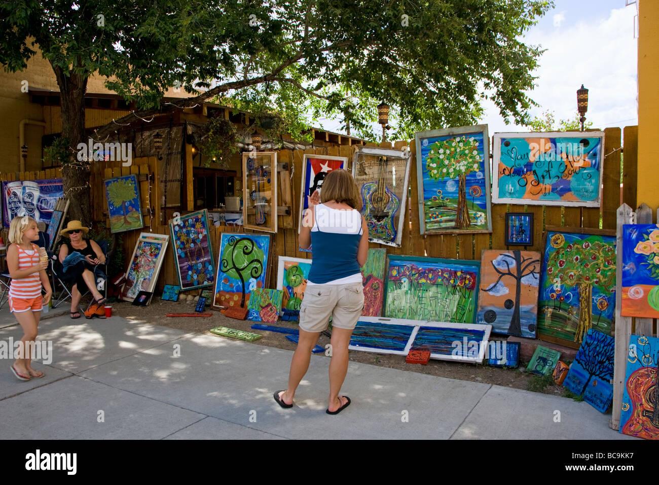 Art Walk An Annual Summer Festival In Salida Colorado Artists