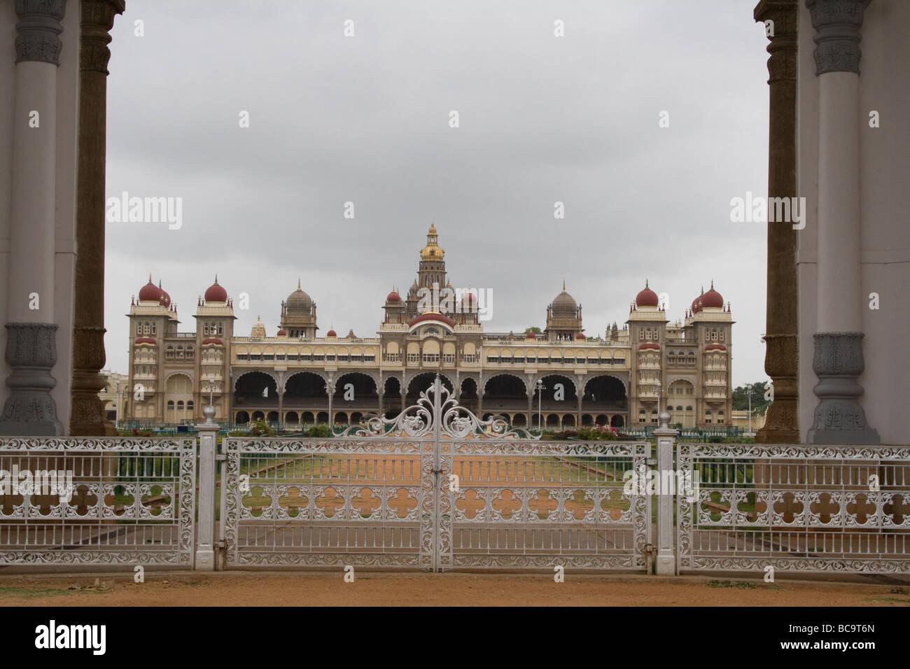 MYSORE PALACE IN KARNATAKA, INDIA - Stock Image