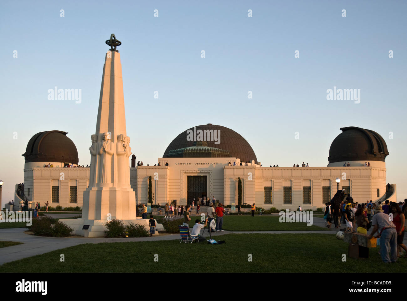 Griffith Observatory, Griffith Park, Los Angeles, California, USA - Stock Image
