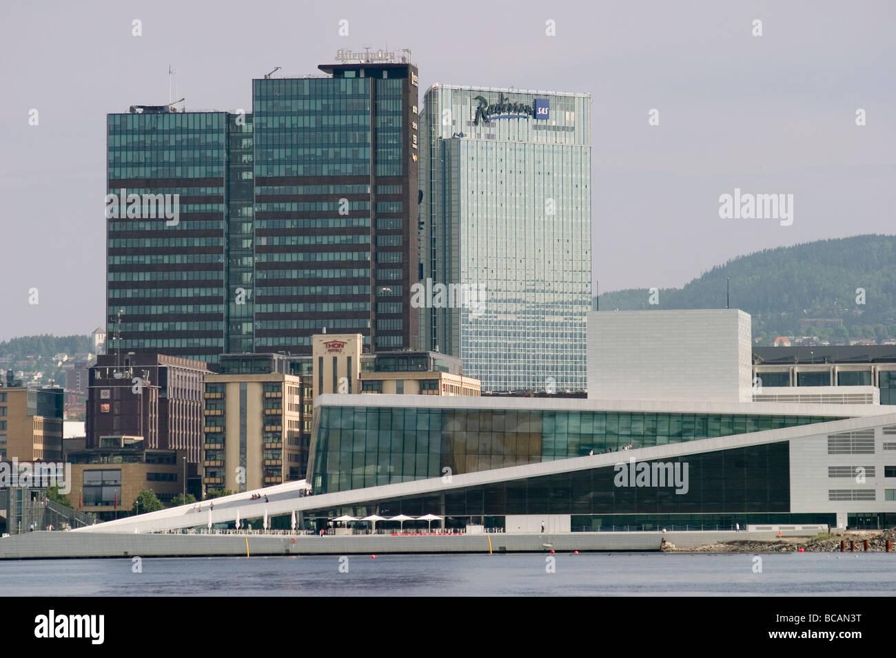 Norway Oslo Opera House, Bjørvika - Stock Image