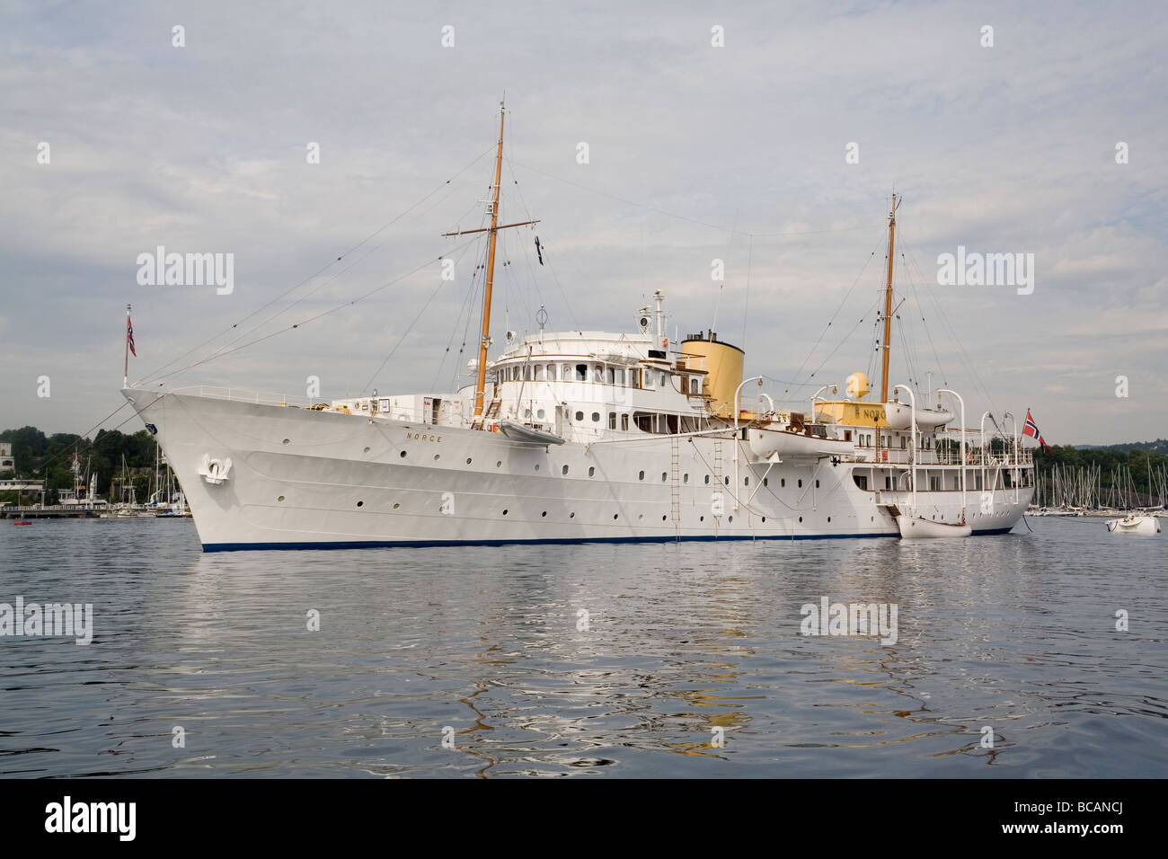 Norway Royal yacht 'Norge' - Stock Image