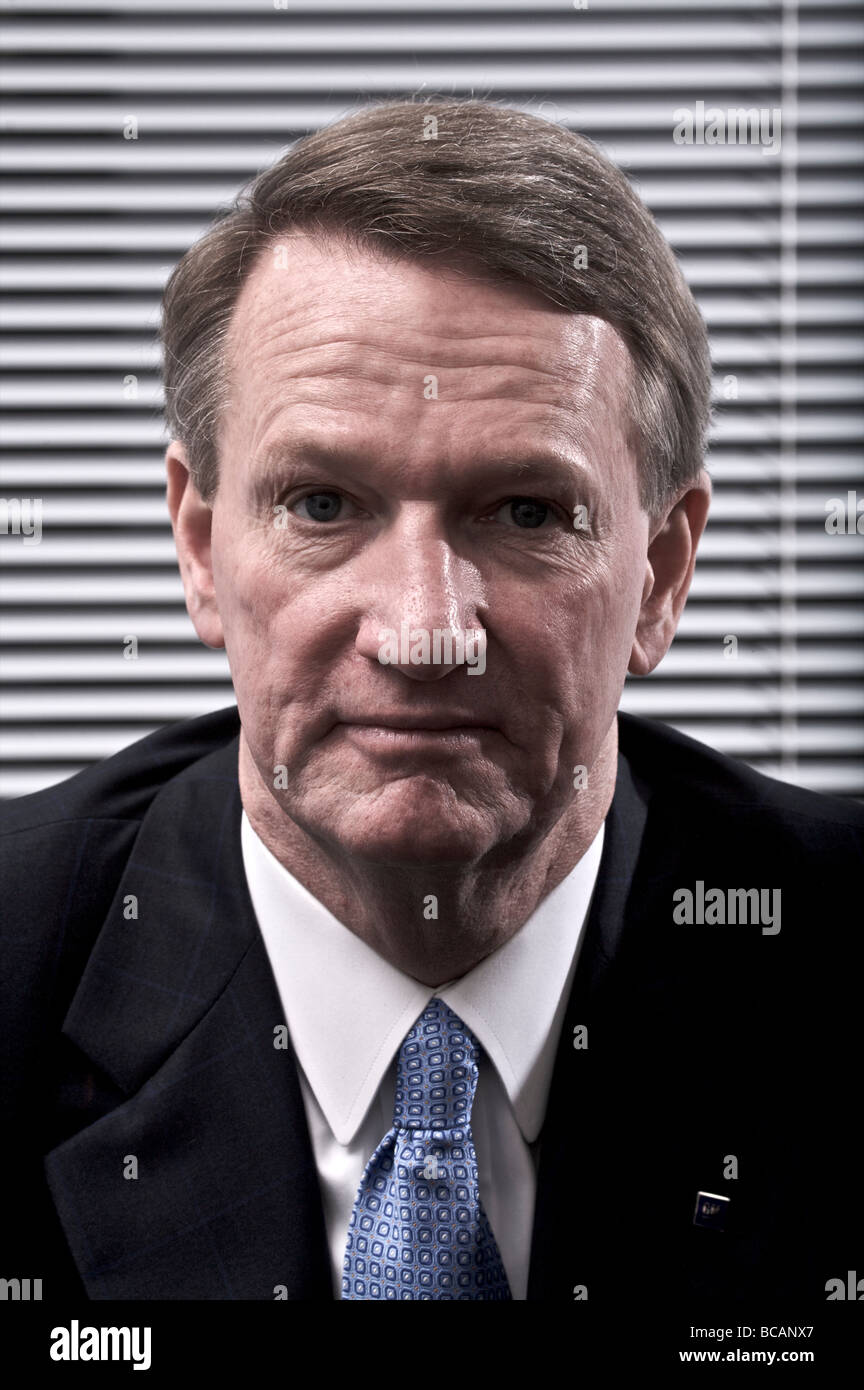 Rick Wagoner Chairman and CEO of General Motors Stock Photo