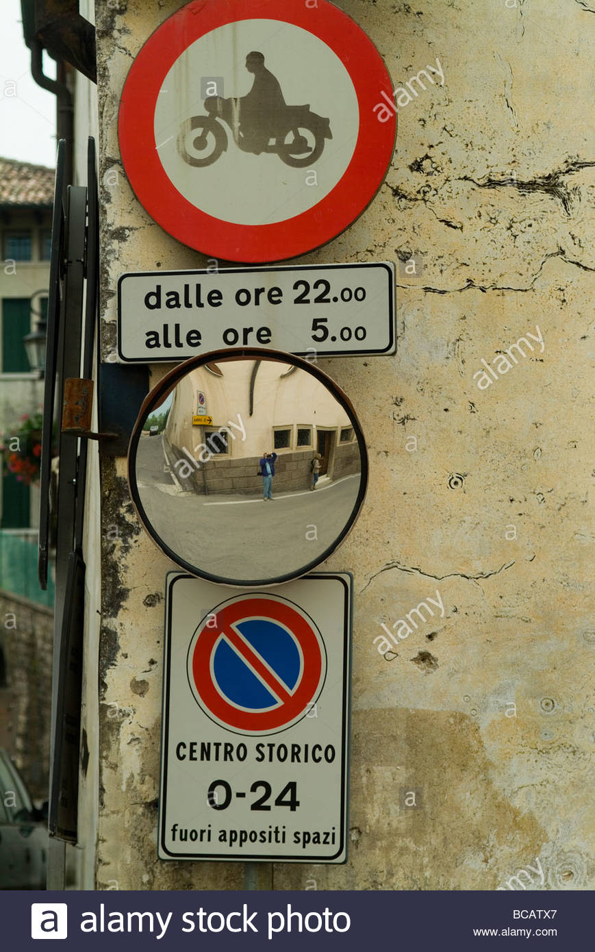Rome Street Sign Reproduction Aluminium Sign Personalised Italian Street Sign