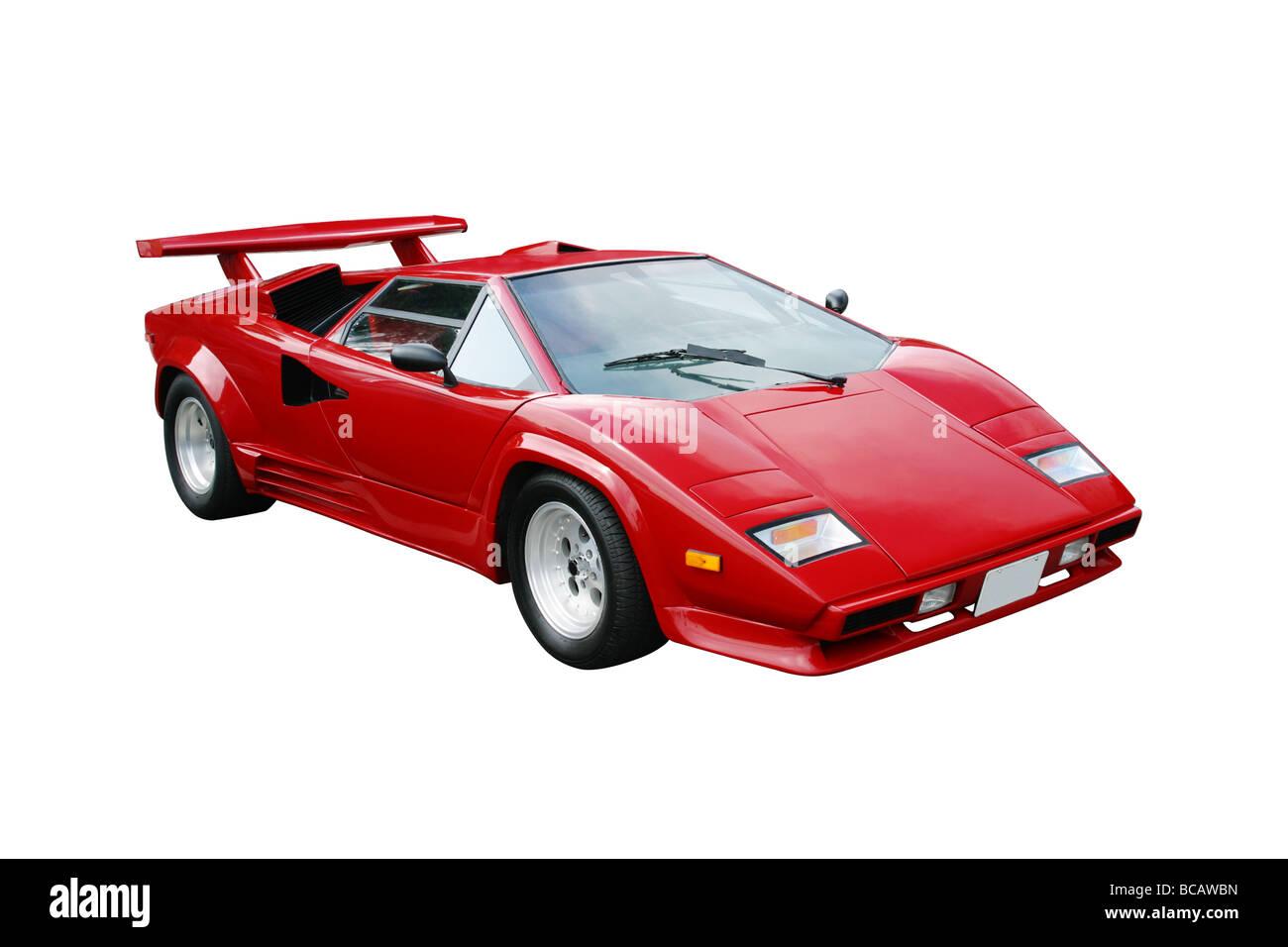 1988 Lamborghini Countach S Exotic Sports Car 1998 Kit Car Stock