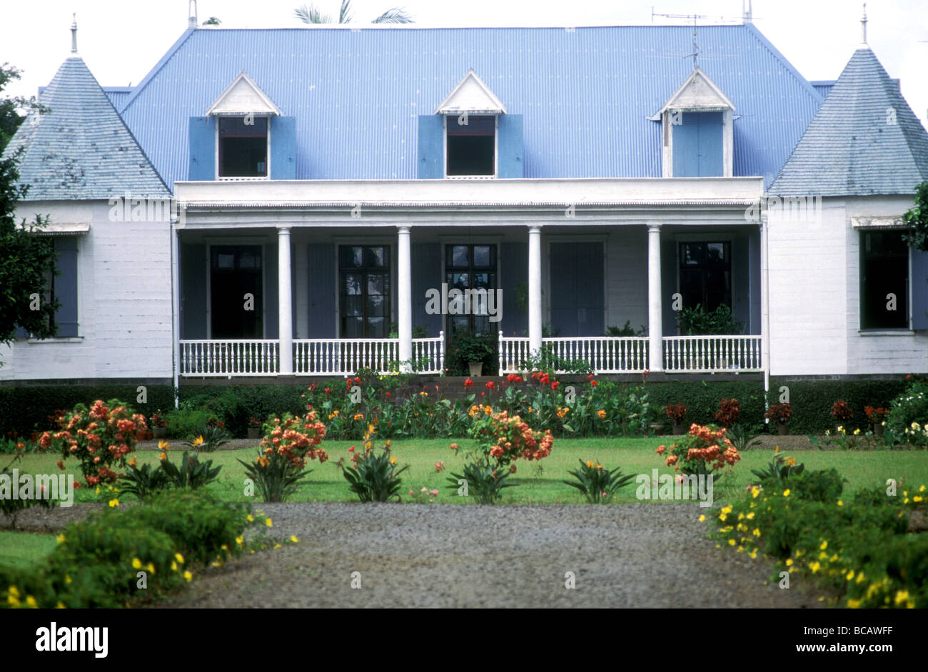 townhouse in curepipe mauritius - Stock Image