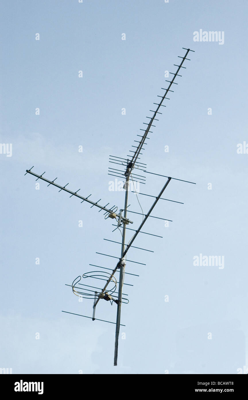 Yagi Antenna Stock Photos & Yagi Antenna Stock Images - Alamy
