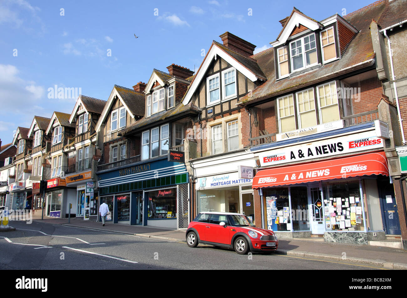 High Street, Uckfield, East Sussex, England, United Kingdom - Stock Image