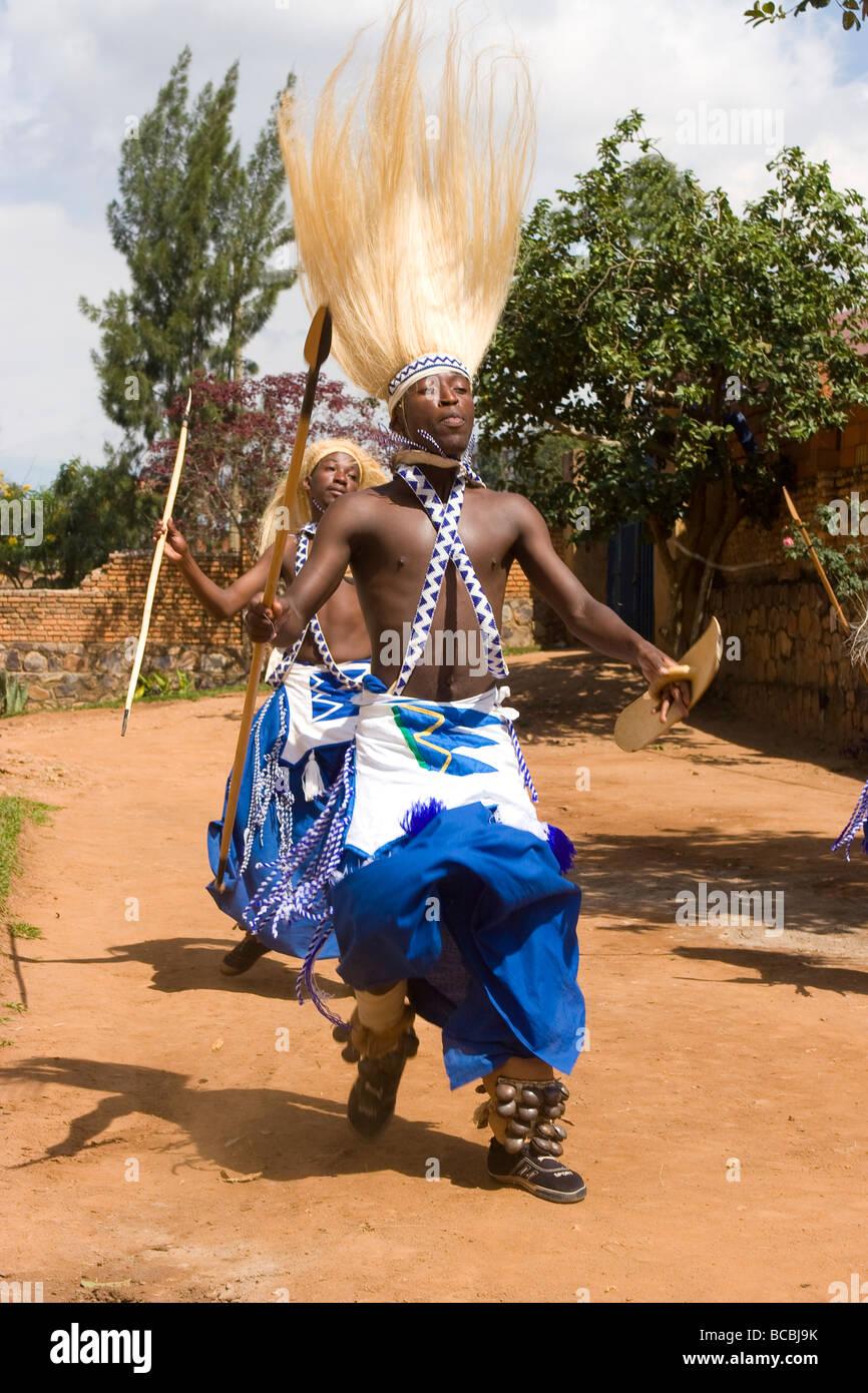 Intore Dancers, Kigali, Rwanda Stock Photo