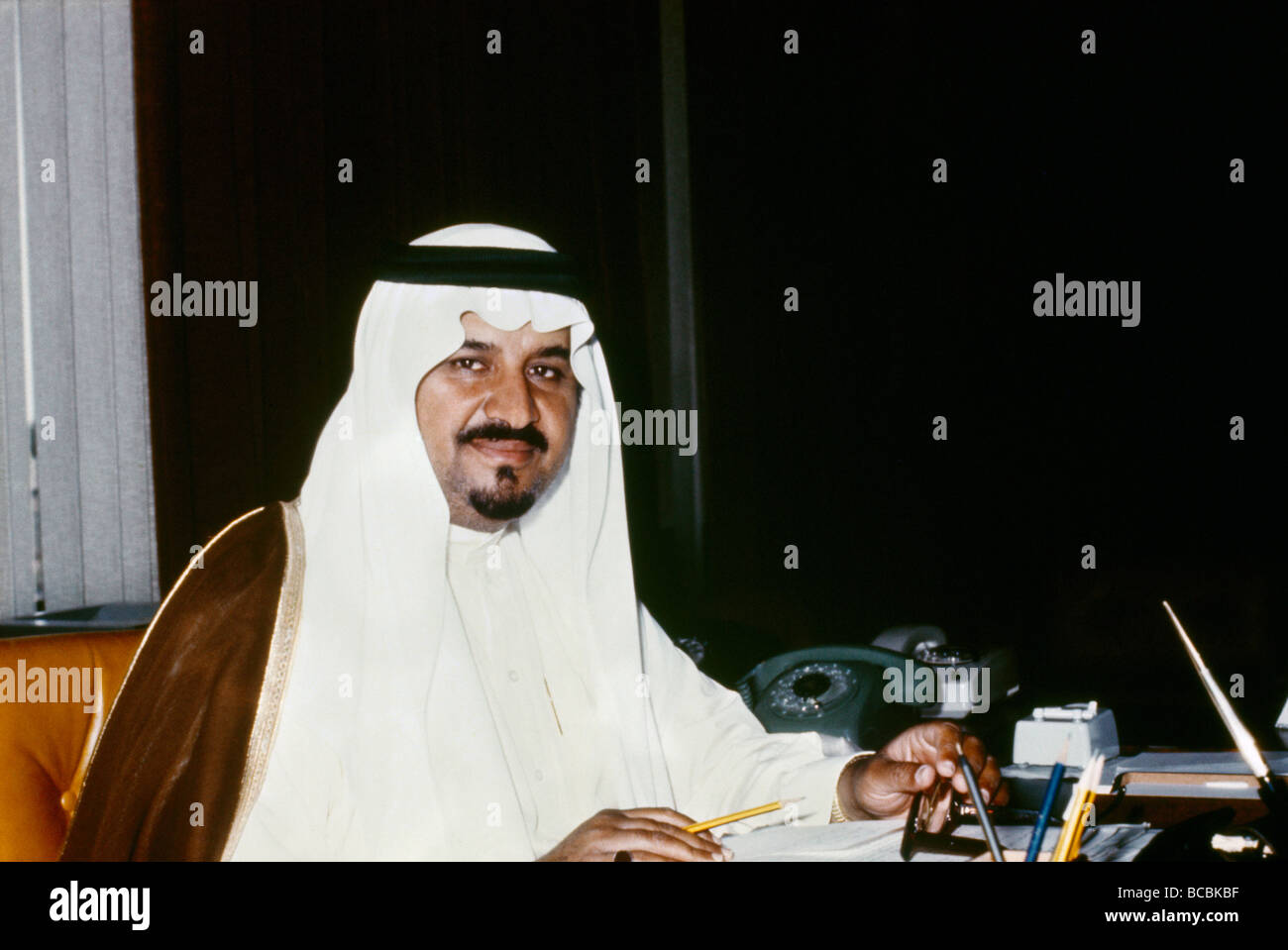 Saudi Arabia Prince Sultan Bin Abdul Aziz - Stock Image