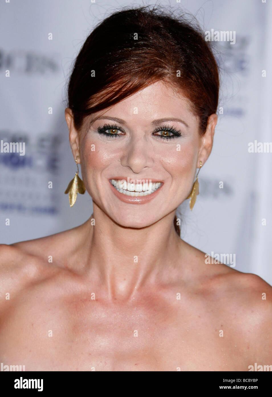 DEBRA MESSING - US film actress in 2009 - Stock Image