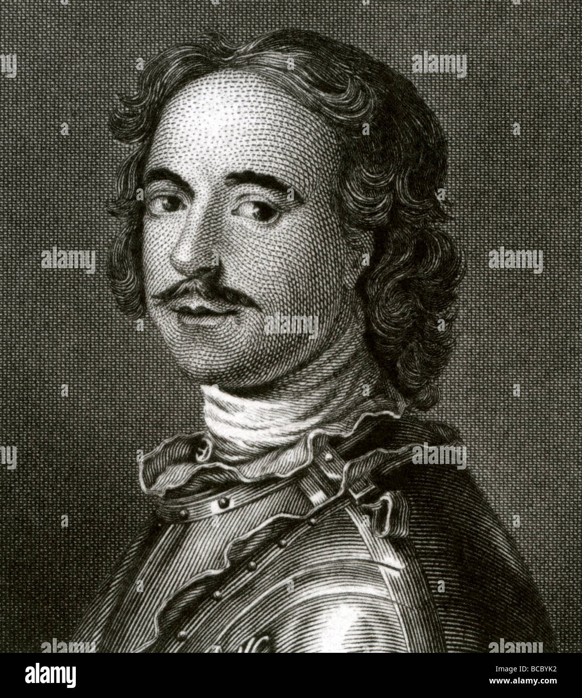 PETER THE GREAT - Tsar and Emperor of Russia - Stock Image