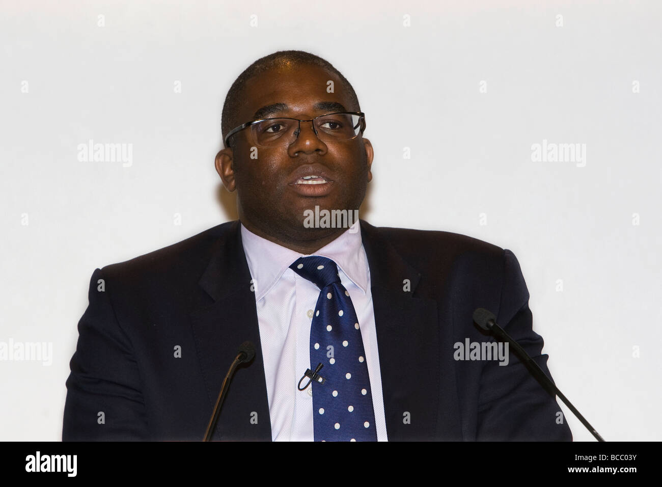 David Lammy  MP Minister of State (Higher Education and Intellectual Property), Department for Business, Innovation - Stock Image