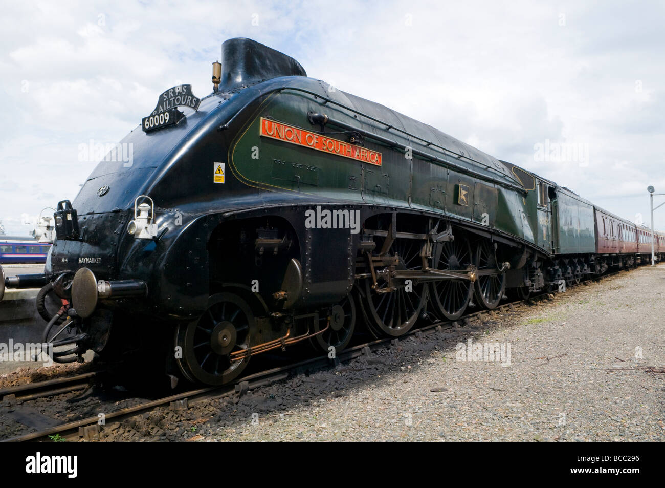 Union of South Africa 60009 A4 Pacific Class - Stock Image