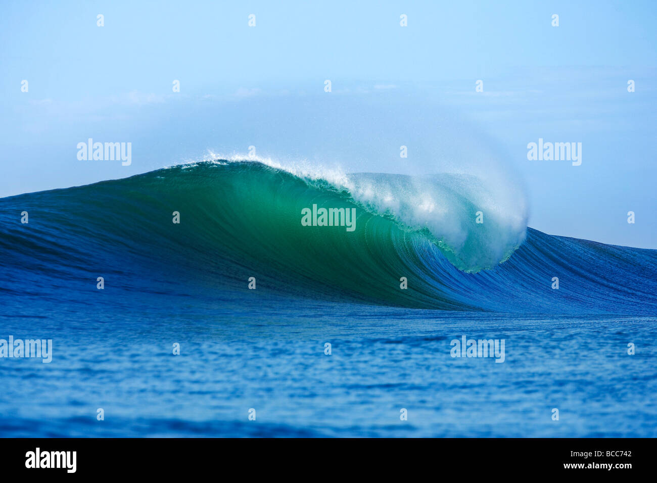 Breaking wave - Stock Image