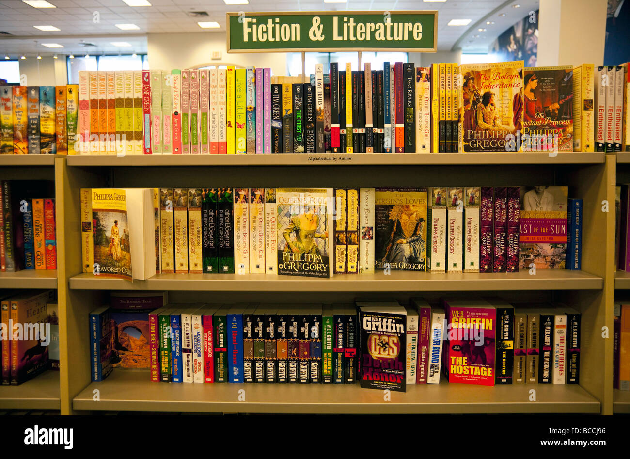 Fiction And Literature Books On Shelves Barnes And Noble