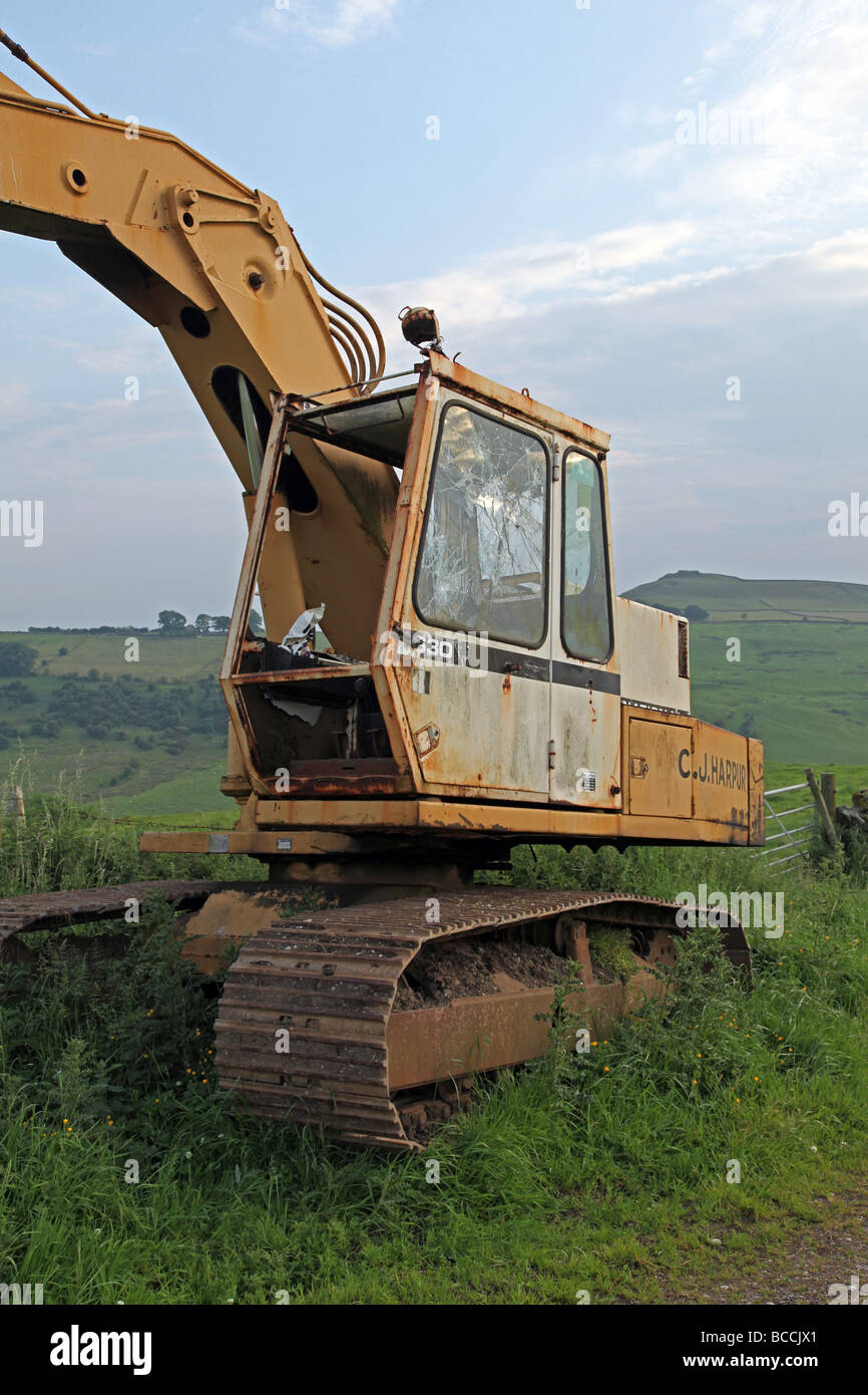 Earth moving machinery. - Stock Image