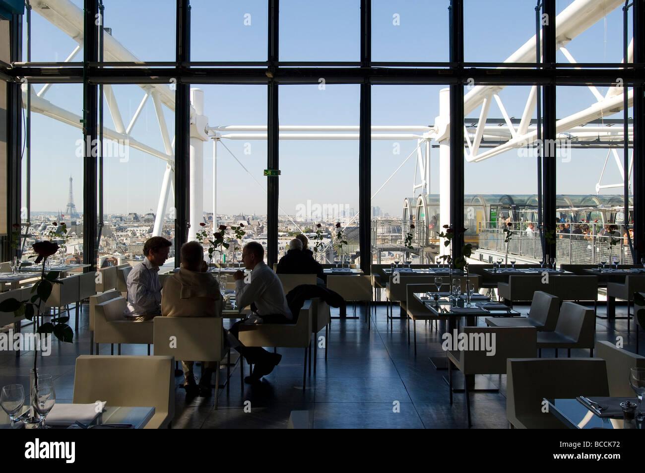 Le Restaurant Cafe Georges Paris