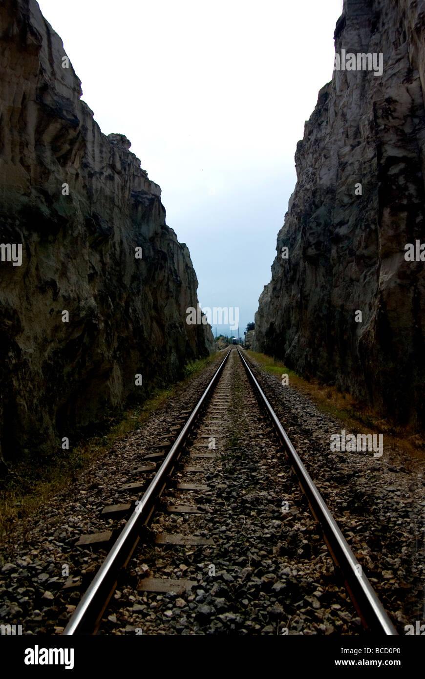 rails - Stock Image