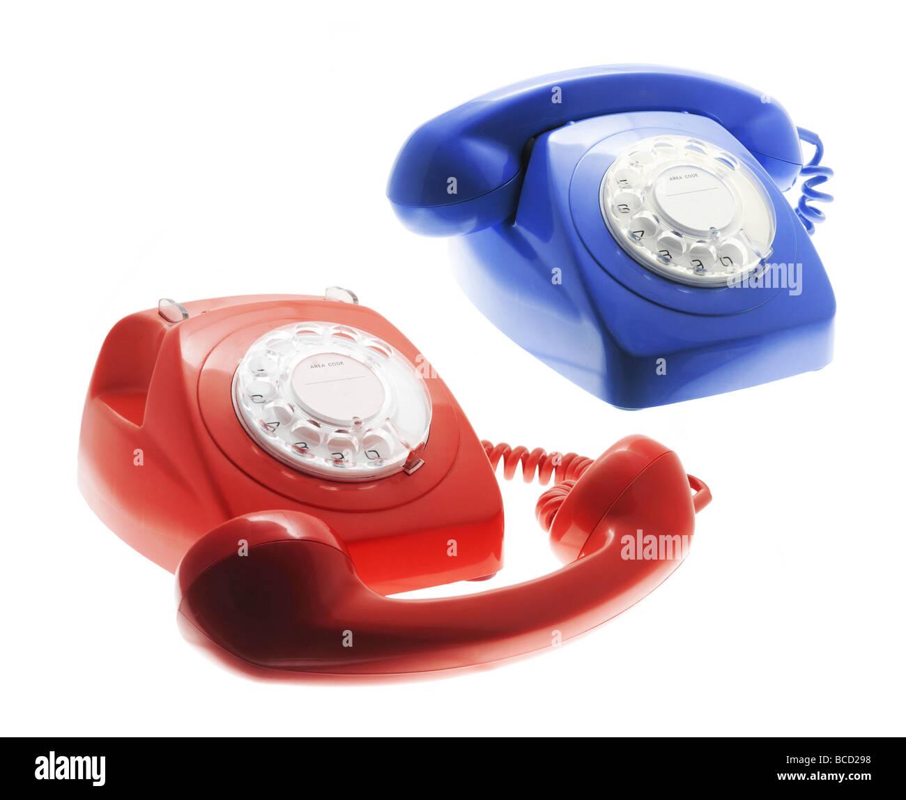 Telephones - Stock Image