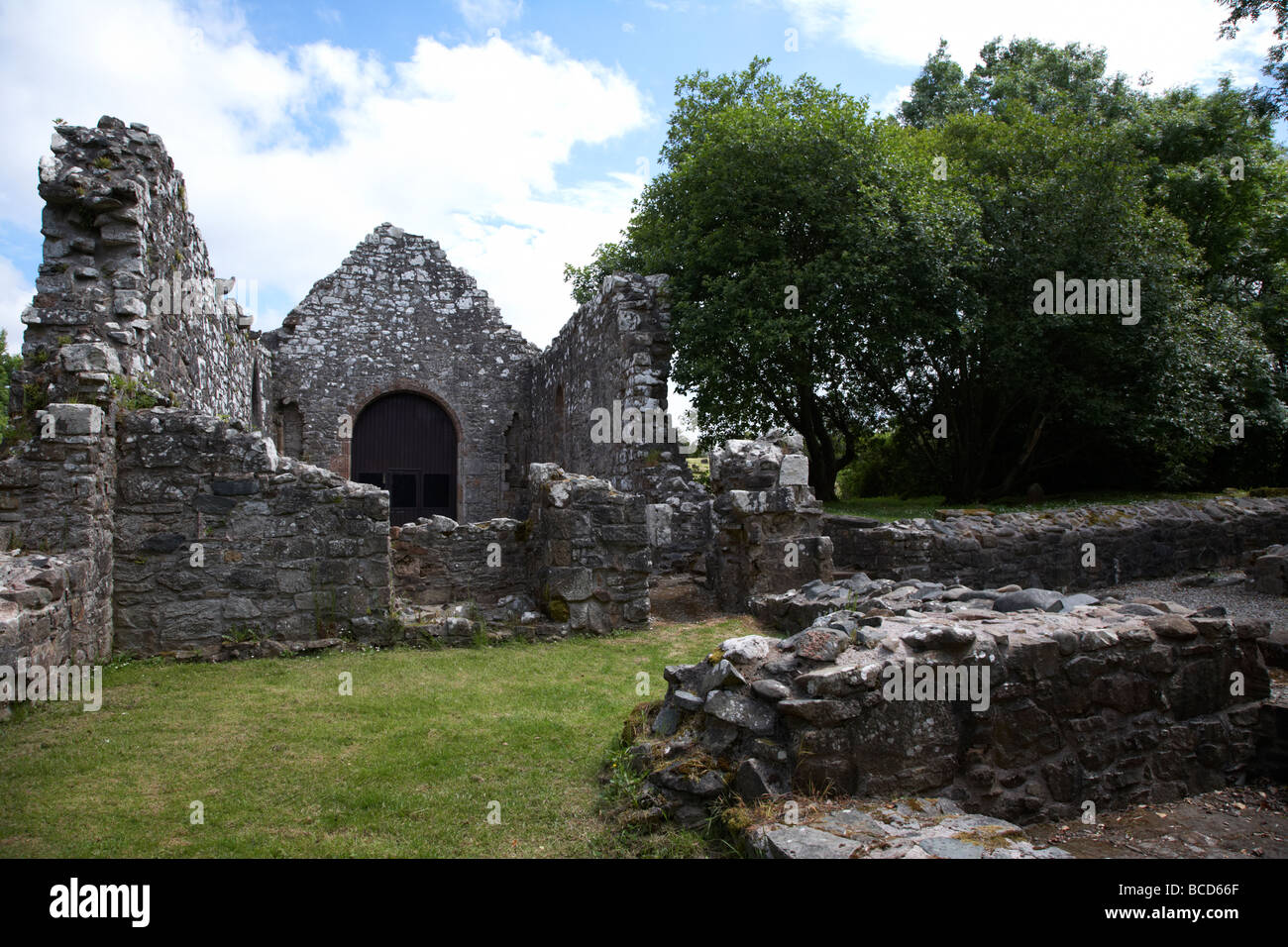 dungiven priory county county derry londonderry northern ireland uk - Stock Image