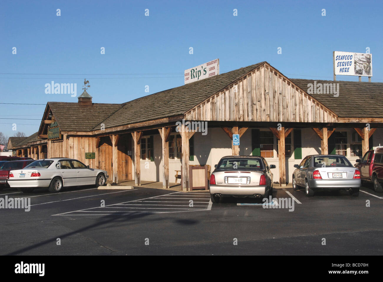 Rips Restaurant In Bowie Md Stock Photo 24877121 Alamy