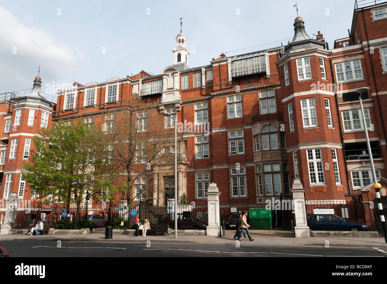 The Royal Marsden Hospital, Chelsea, London, England Britain UK - Stock Image