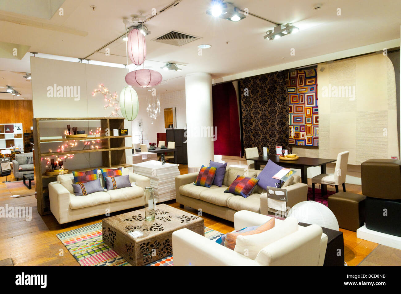 habitat furniture store london england uk stock photo 24878487 alamy